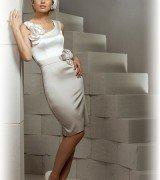 Короткие свадебные платья фото BELFASO