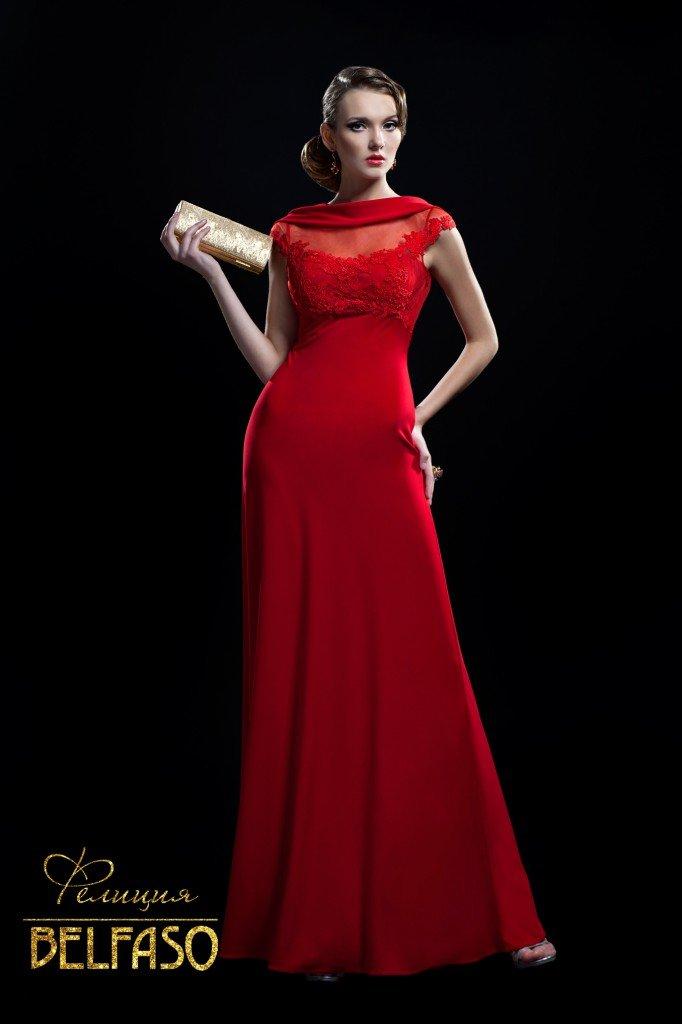 Вечернее платье для рыжих девушек