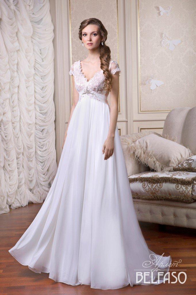 Элегантное свадебное платье в стиле ампир идеально для каждой невесты