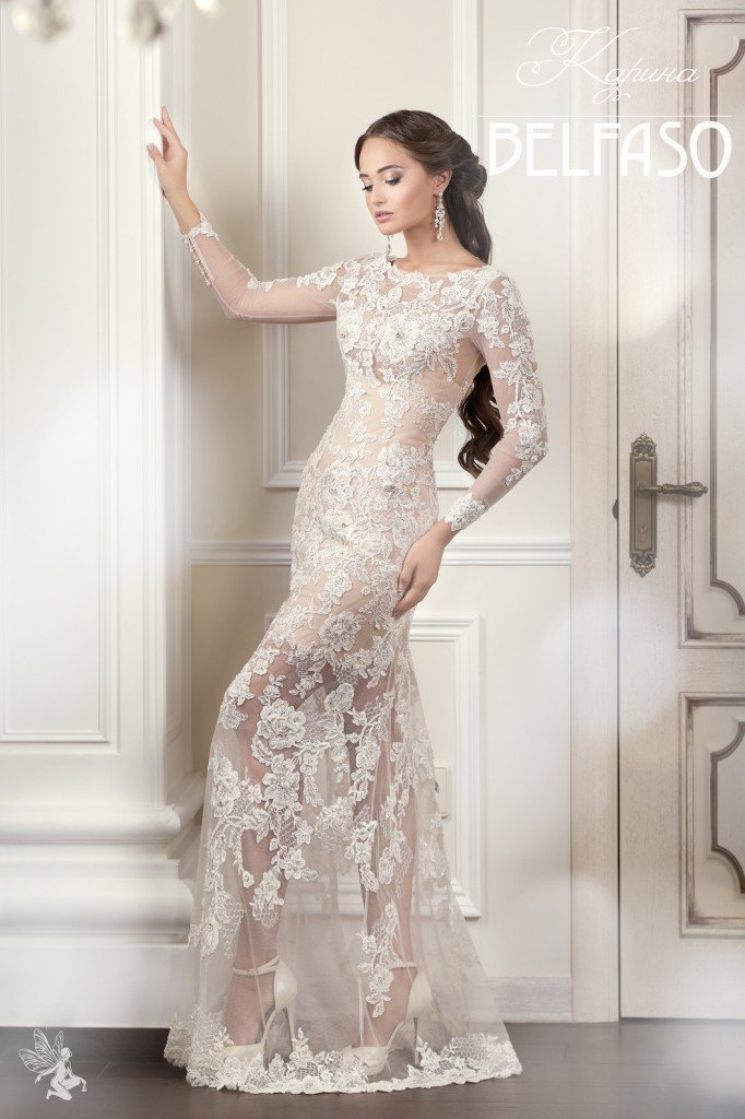 Кружевные свадебные платья - купить платья с кружевом (кружевным