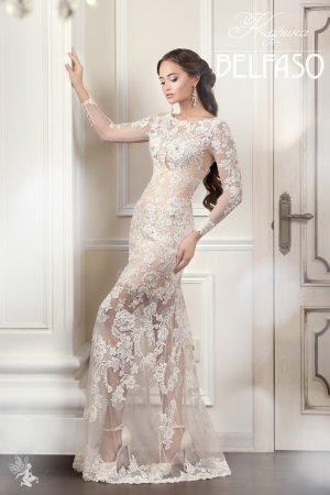b9a241f4b6dda2d Прямые свадебные платья с кружевом - кружевные платья в салоне BELFASO