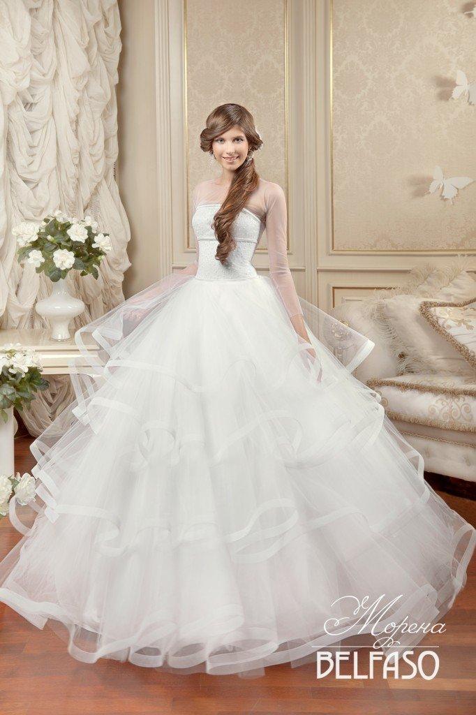 301dd4f2a1e Очень пышные свадебные платья как торжество королевского стиля
